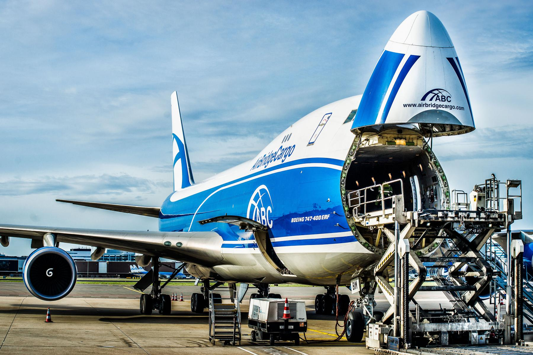 Airbridgecargo Airlines Boeing 747 400erf
